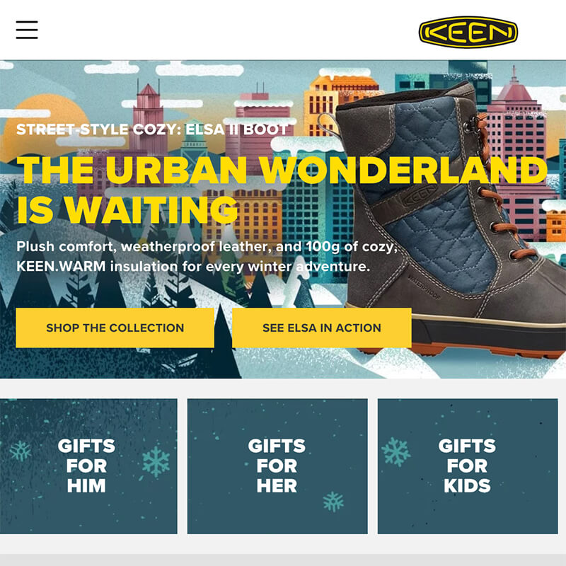 KEEN - Home Page