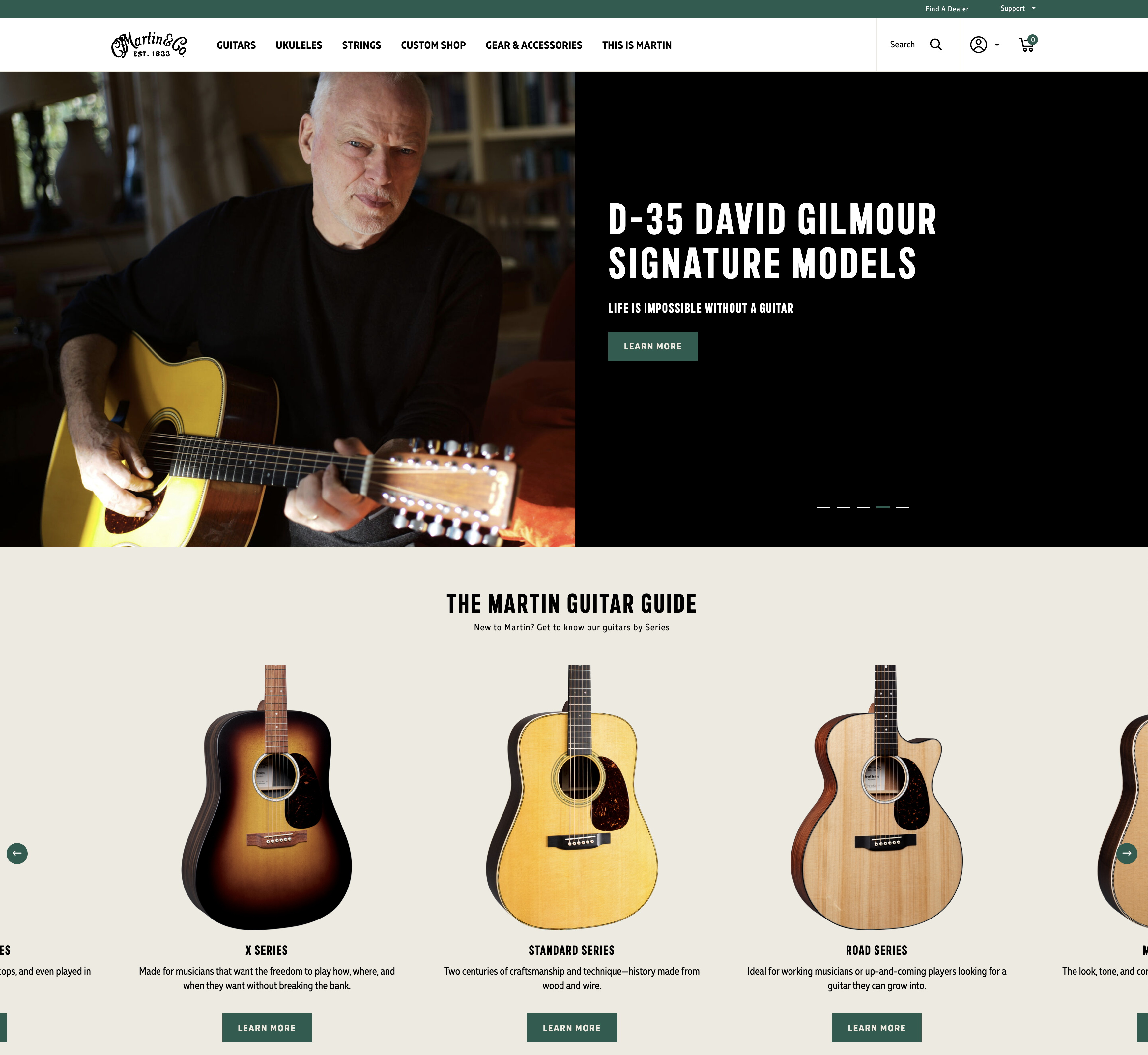 Martin - Home Page